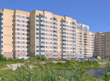 Панельные разновысотные жилые корпуса